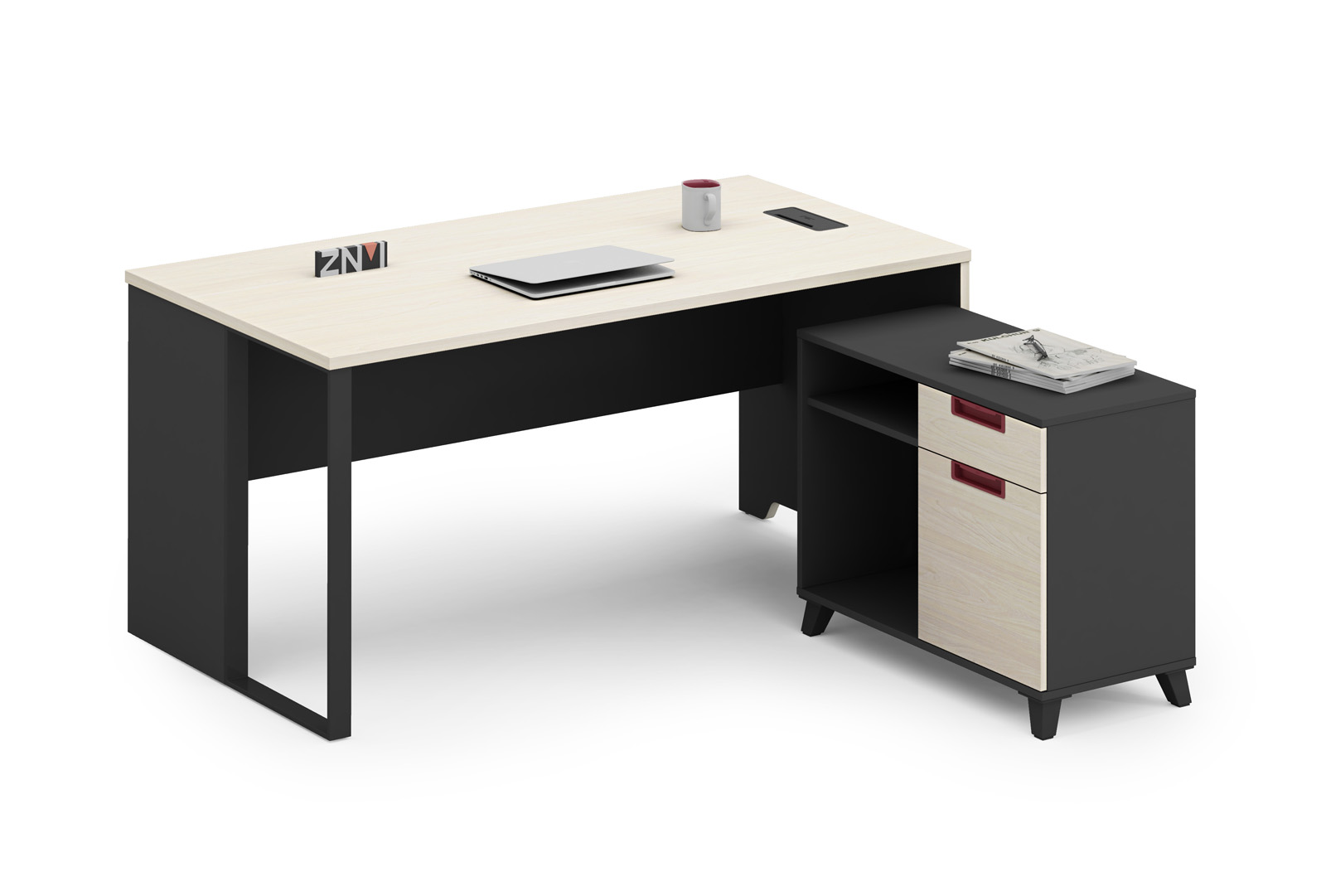 latest BEST OFFICE FURNITURE NEW DESIGN ZNMIS BRAND OFFICE Main TABLE T-DC1406/T-DC1608