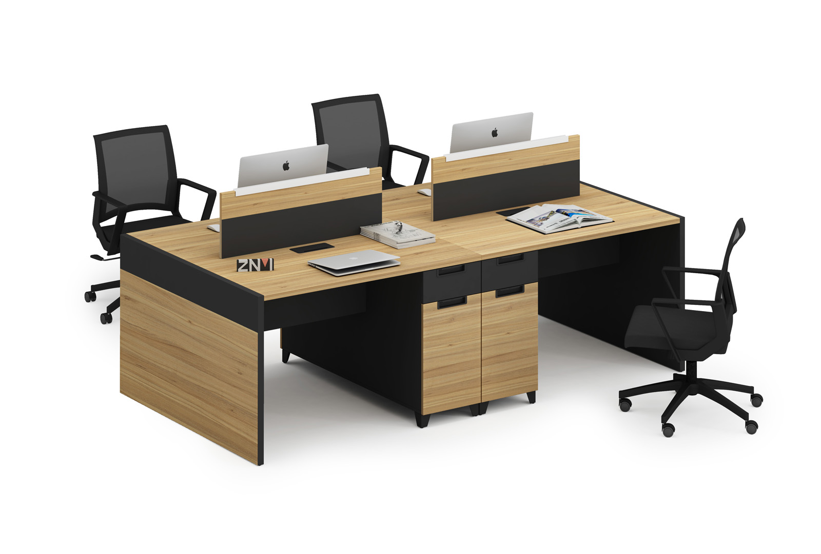 SZONE ZM 2 Person Office Workstation New Design K-WC1212/C-WC1412