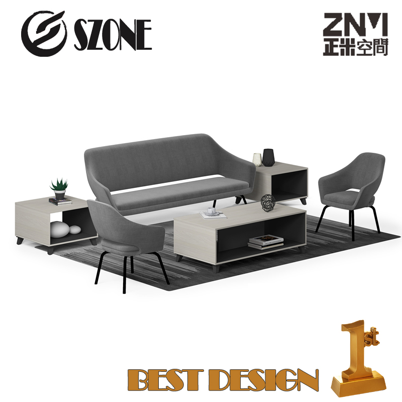 SZONE ZNMIS Modern Simple&Fabric OFFICE SOFA SF02-3S /SF02-1S