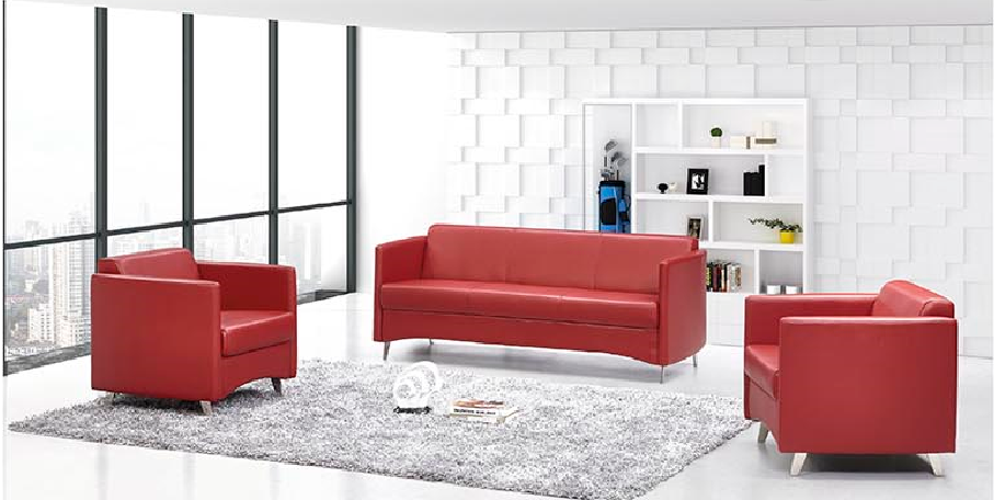 2015 Newest office sofa furniture S500-1 1+1+3 set