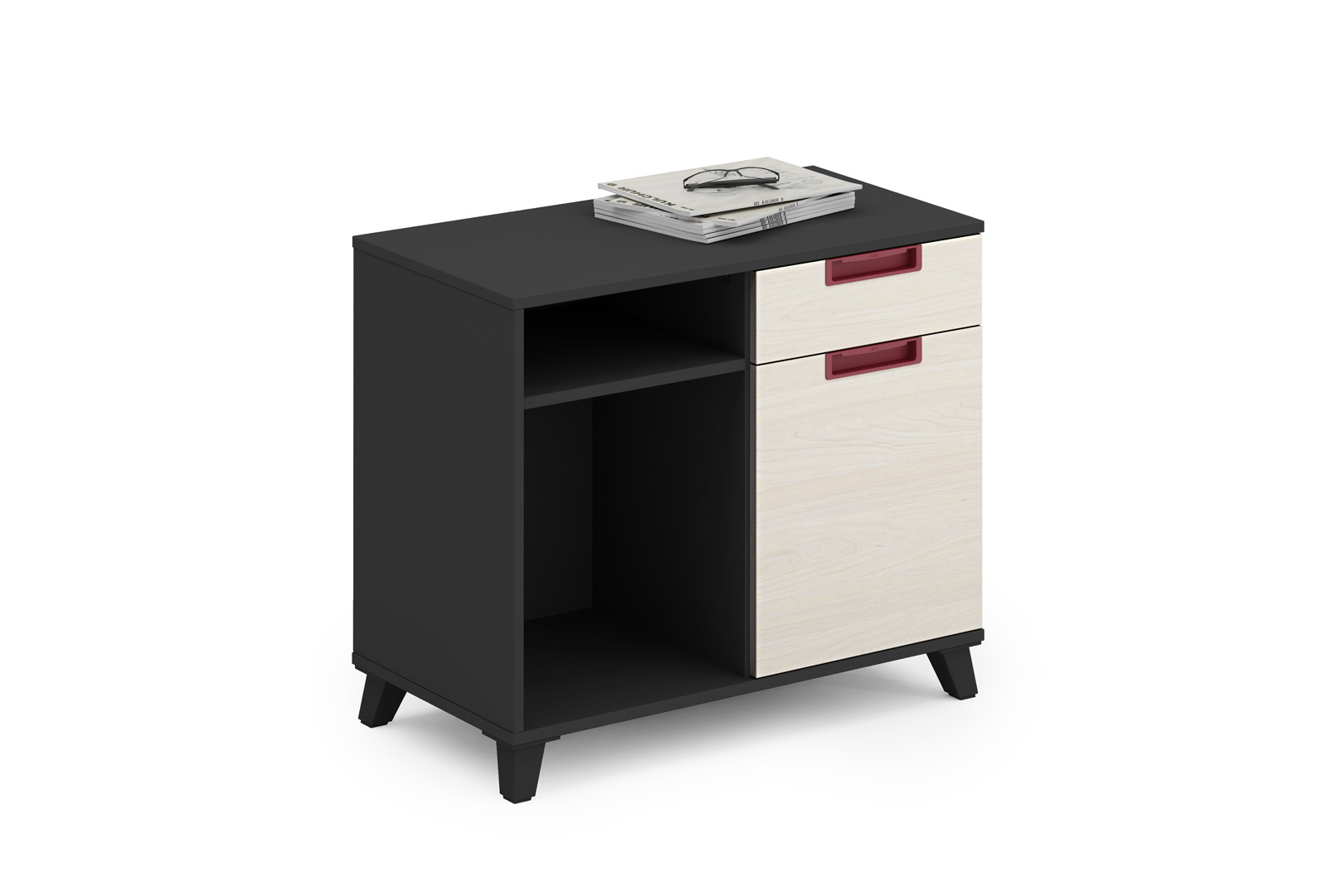 Latest BEST OFFICE FURNITURE NEW DESIGN ZNMIS BRAND OFFICE Side -Retun T-CD0804