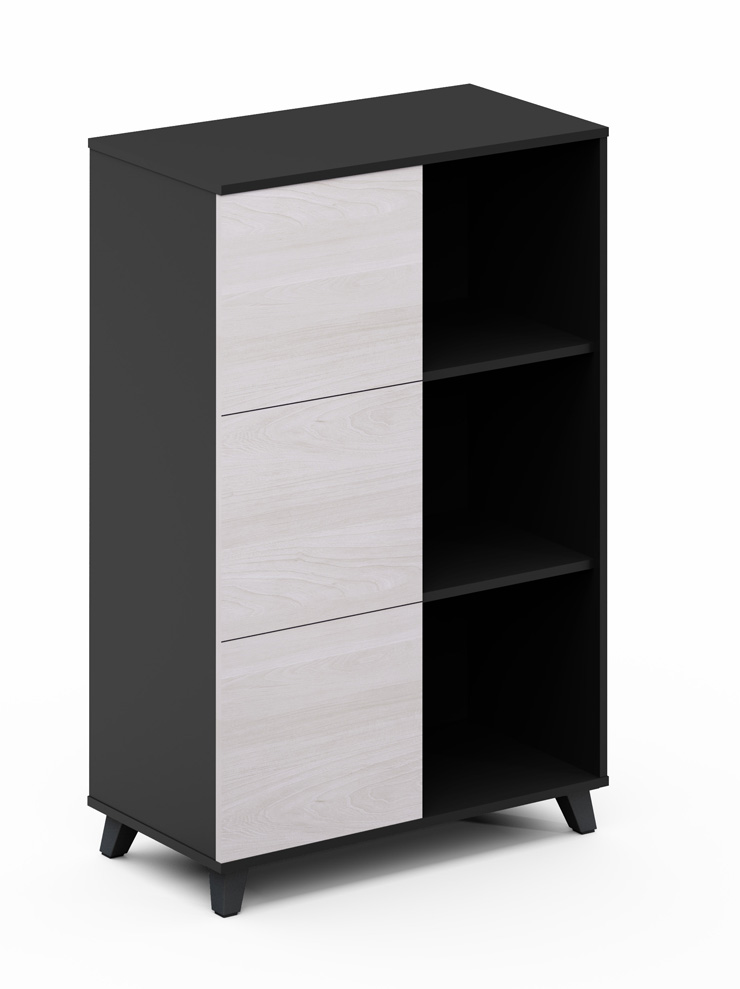 Znmis new Double face Open Cabinet( T-CE0804B) for office furniture