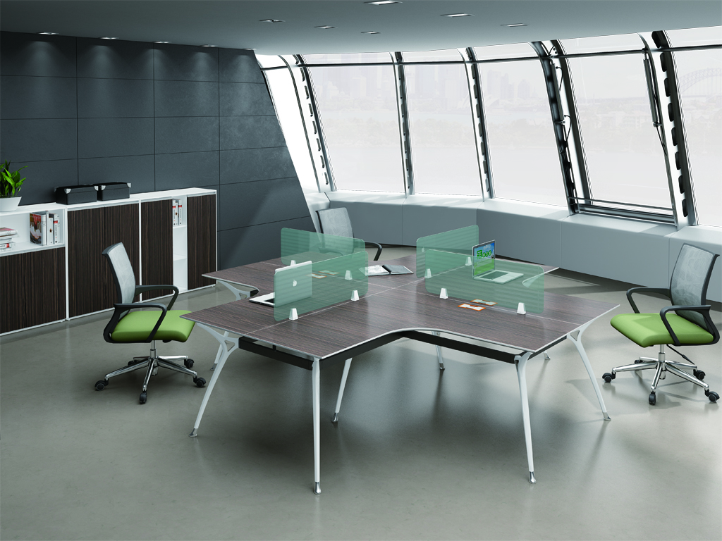 Latest New design 4 person office desk 66-WF2424