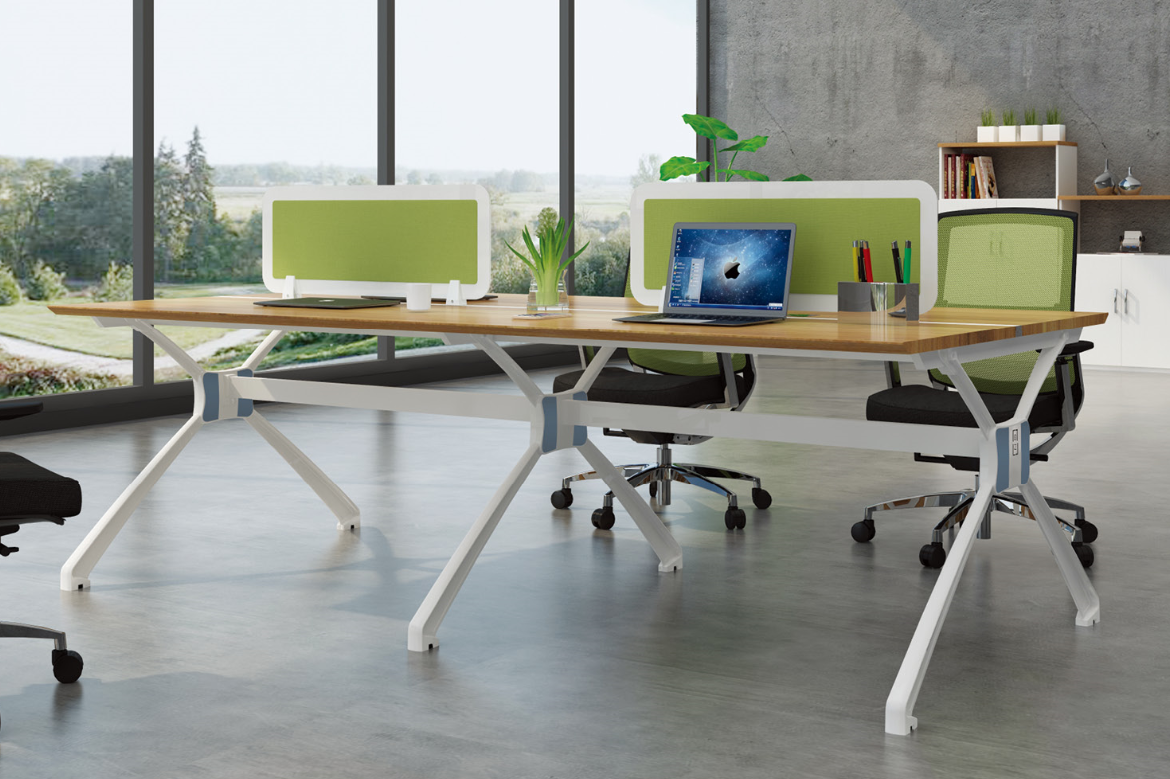 Latest New design 4 person office desk 99-WH2412