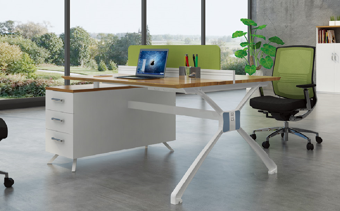 Latest New design 2 peoson office desk 99-WA1212